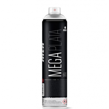 Mega Plata Spray Paint