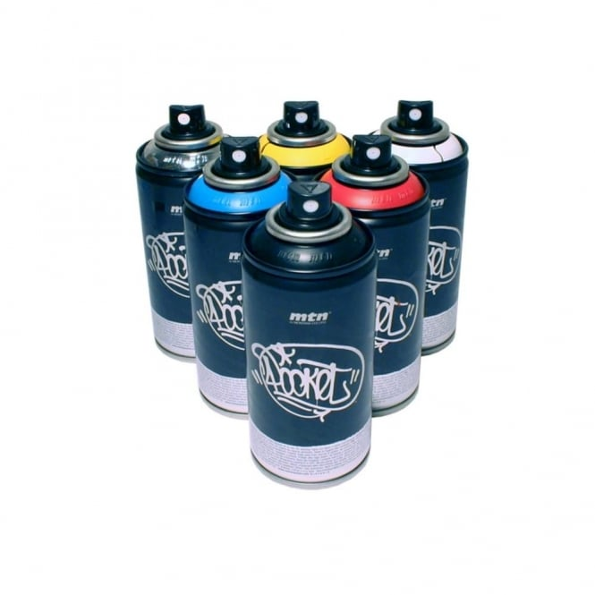 MTN Pocket Spray Paint - 6 Pack