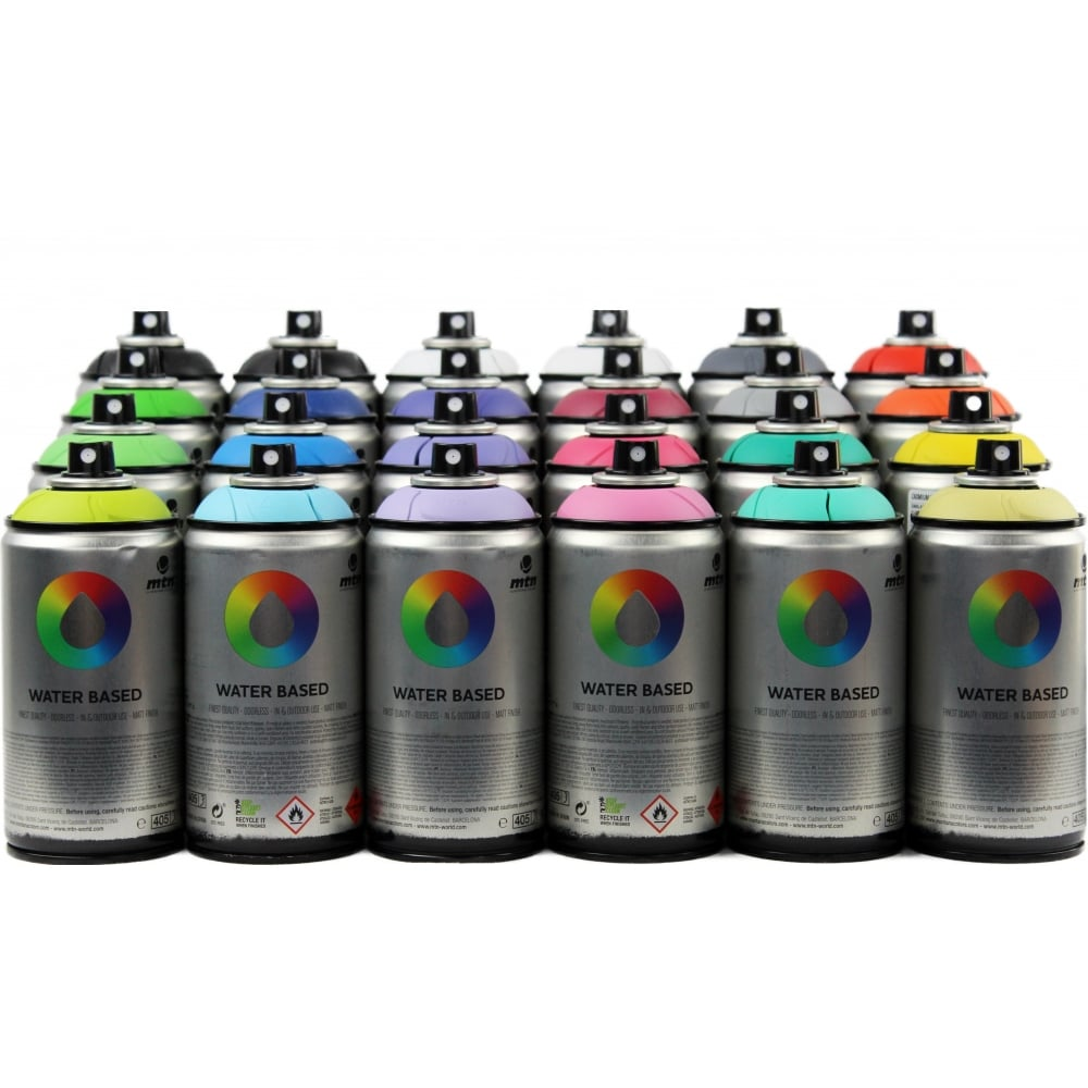 Is Spray Paint Water Soluble