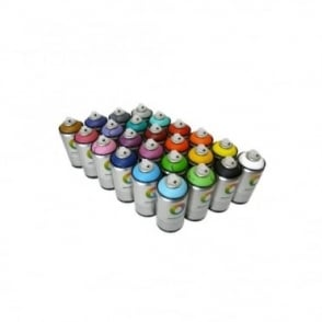 MTN Water Based Spray Paint - 24 Pack