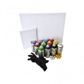Water Based Spray Paint Try-Out Pack