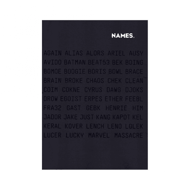 Names: By Same