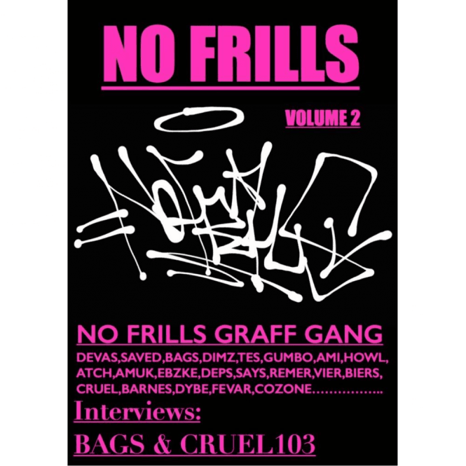 No Frills Graff Gang Magazine | Volume 2