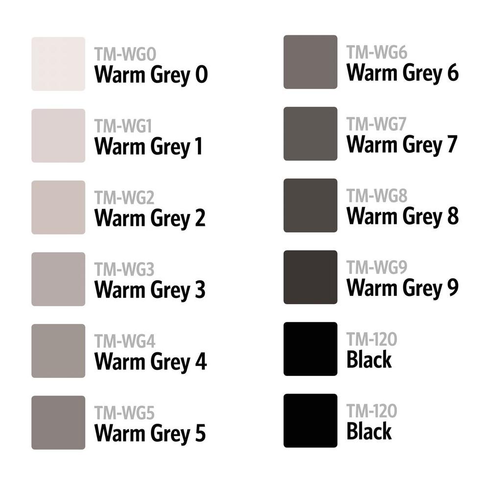 Touch Twin marker wg5 layout Marker-warm grey