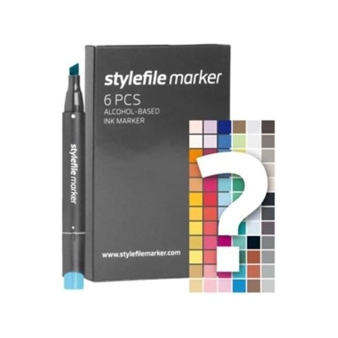 Stylefile Marker 6 Piece Try Out Set