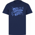The Seventh Letter Drip T-Shirt (Blue)