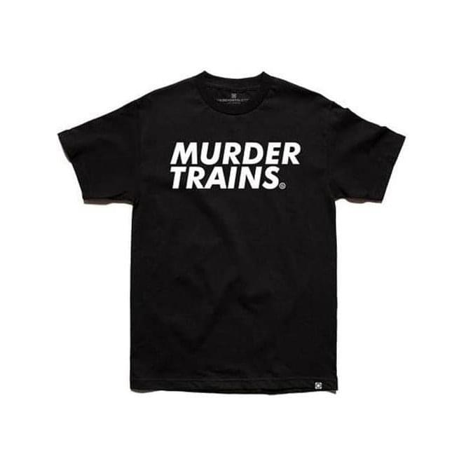 The Seventh Letter Murder Trains Tee (Black)