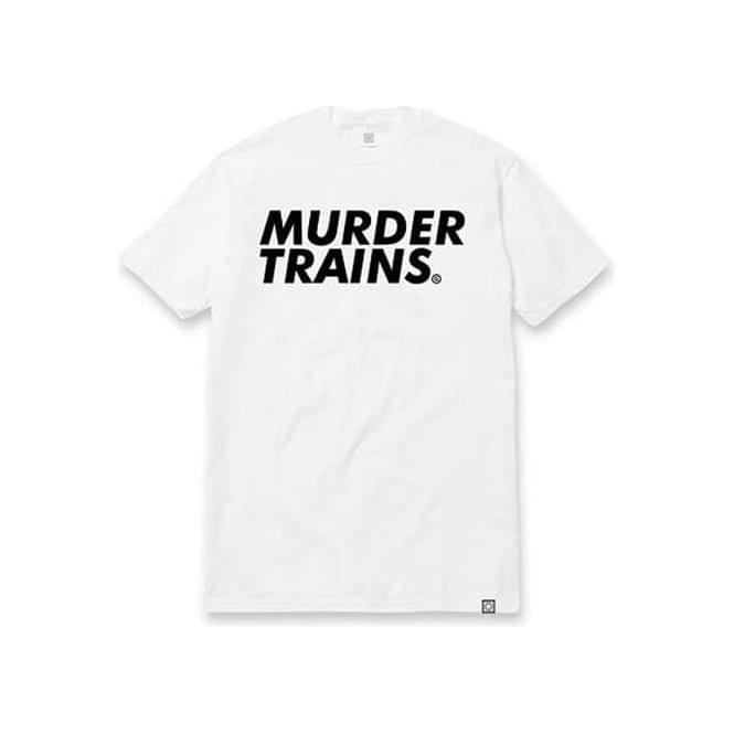 The Seventh Letter Murder Trains Tee (White)