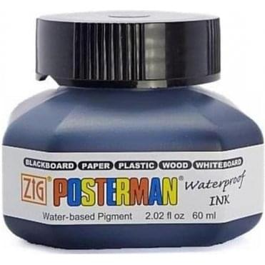 Zig Posterman Waterproof Ink